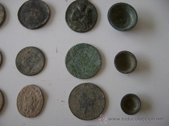 Monedas de España: LOTE DE CINCUENTA Y TRES MONEDAS,MEDALLAS Y PIEZAS DE PONDERAL - Foto 5 - 25871577