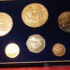 Monedas de España: ESTUCHE BARBADOS 1º DIA DE CIRCULACION 1973. Lote 21764244