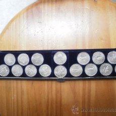 Monedas de España: COLECCION DE MONEDAS DE PLATA. Lote 26436446