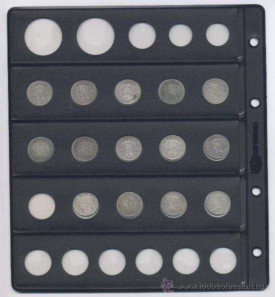 Monedas de España: LOTE DE 50 CENTIMOS-GOB.PROVISIONAL-ALFONSO XII Y ALFONSO XIII - Foto 2 - 38222402