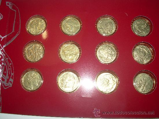 MONEDAS GRIEGAS DE PLATA....EL OBSERVADOR.....1993. (Numismática - España Modernas y Contemporáneas - Colecciones y Lotes de conjunto)