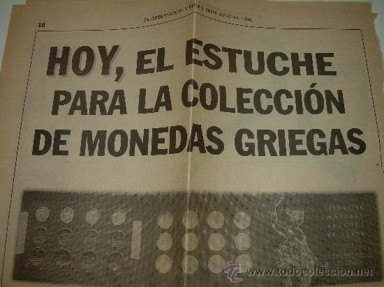 Monedas de España: MONEDAS GRIEGAS DE PLATA....EL OBSERVADOR.....1993. - Foto 9 - 28639981