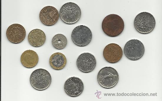 LOTE DE 16 MONEDAS EUROPEAS (Numismática - España Modernas y Contemporáneas - Colecciones y Lotes de conjunto)