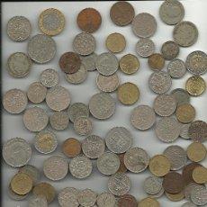 Monedas de España: GRAN LOTE DE 107 MONEDAS DE PORTUGAL. Lote 29780713