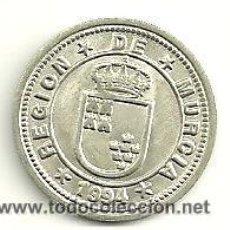 Monedas de España: COLECCION DE 28 MONEDAS DE PLATA. MUNICIPIOS DE LA REGIÓN DE MURCIA. Lote 34663798