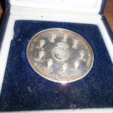 Monedas de España: MONEDA DEL REAL MADRID DEL CENTENARIO ESPECIAL COLECCIONISTA DE PLATA. Lote 30948609
