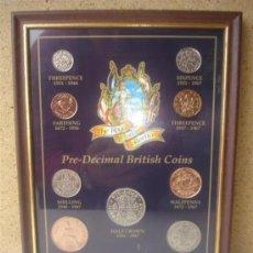 Monedas de España: LOTE DE 9 MONEDAS COLECCINABLE EN MARCADAS 1993. Lote 31118025
