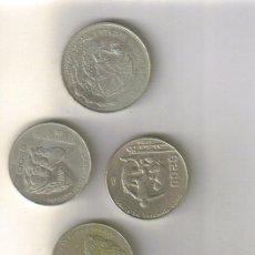 Coins of Spain - LOTE DE 5 PIEZAS DE 200 PESOS - MEXICO - LOS DE LA FOTO - 31557262