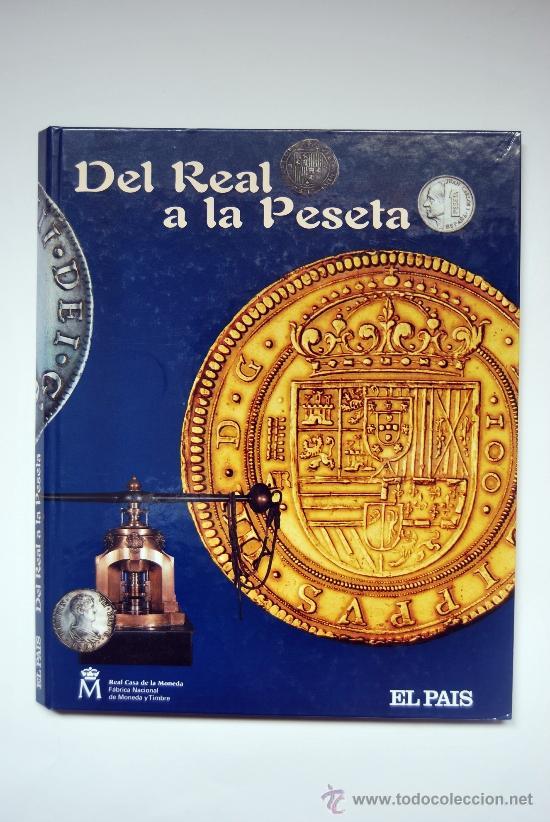 EXCELENTE ÁLBUM CON 40 MONEDAS REPRODUCIDAS: DEL REAL A LA PESETA (Numismática - España Modernas y Contemporáneas - Colecciones y Lotes de conjunto)