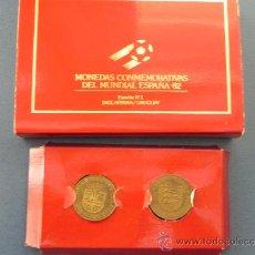 Monedas de España: LOTE 2 MONEDAS DEL MUNDIAL ESPAÑA´82 (REF 90016). Lote 32305564