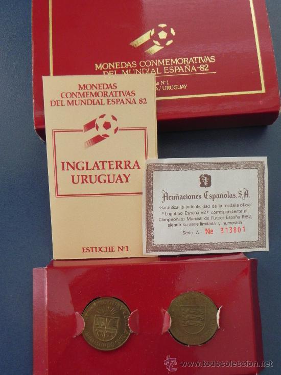 Monedas de España: LOTE 2 MONEDAS DEL MUNDIAL ESPAÑA´82 (ref 90016) - Foto 3 - 32305564