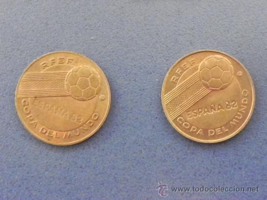 Monedas de España: LOTE 2 MONEDAS DEL MUNDIAL ESPAÑA´82 (ref 90016) - Foto 4 - 32305564