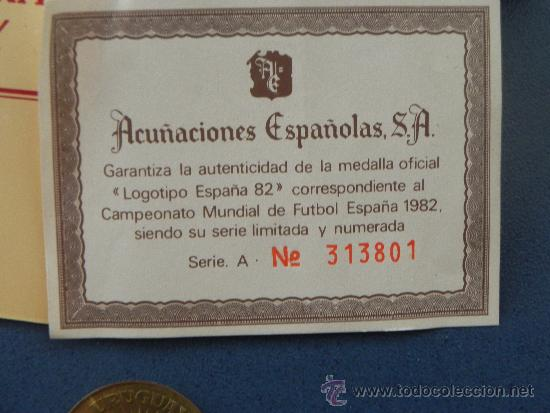 Monedas de España: LOTE 2 MONEDAS DEL MUNDIAL ESPAÑA´82 (ref 90016) - Foto 6 - 32305564