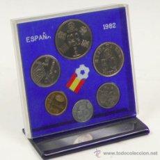 Monedas de España: ESPAÑA 1982. 6 MONEDAS ENMARCADAS, .. Lote 33060412