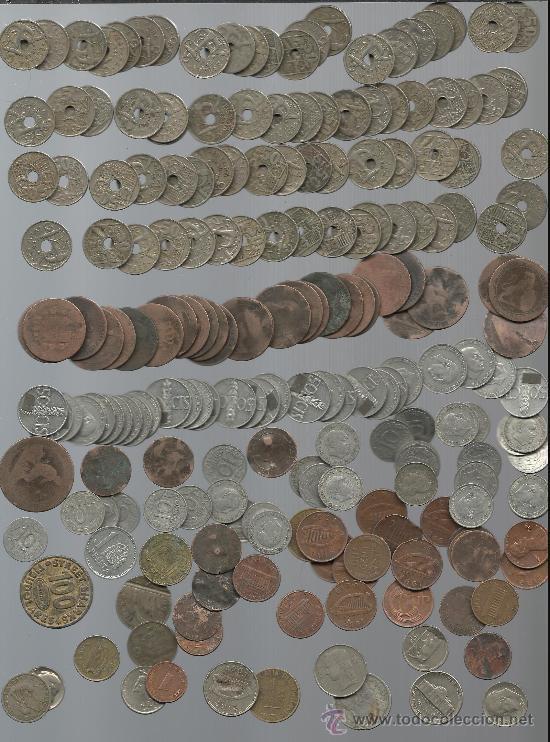 LOTE DE MONEDAS DE DISTINTOS TIPOS Y CALIDADES LAS DE LA FOTO (Numismática - España Modernas y Contemporáneas - Colecciones y Lotes de conjunto)