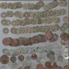 Monedas de España: LOTE DE MONEDAS DE DISTINTOS TIPOS Y CALIDADES LAS DE LA FOTO. Lote 33417857