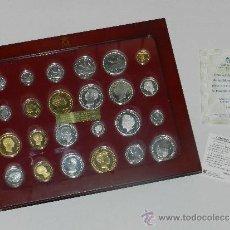 Monedas de España: (M) HISTORIA DE LA PESETA ,TODAS DE PLATA DE LEY ACUÑADA POR LA FABRICA NACIONAL DE MONEDA Y TIMBRE . Lote 33580160