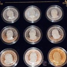 Monedas de España: 9 MONEDAS DE PLATA 999/000 PAPAS DEL S. XX. Lote 33911983