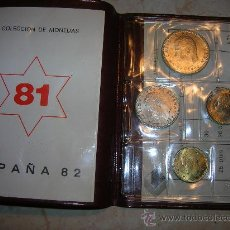 Münzen von Spanien - Cartera numismática Filabo del Mundial 82 (1980 *81) - 33962203