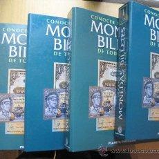 Monedas de España: MONEDAS Y BILLETES DEL MUNDO. Lote 34363399