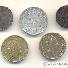 Coins of Spain - EXT- BARATO LOTE DE CINCO PIEZAS DIVERSAS. LAS DE LA FOTO. - 35006812