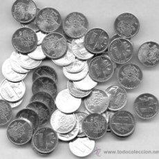 Monedas de España: LOTE 1,OOO MONEDAS DE 1 PTA 1989-90-91-92-93-94-95-96-97-98-99-2000 Y 2001 CASI TODAS SIN CIRCULAR.. Lote 35956068