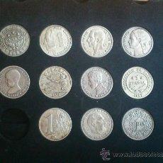 Monedas de España: COLECCION MONEDAS DE LA PESETA AL EURO Y ROMANAS. Lote 36267232