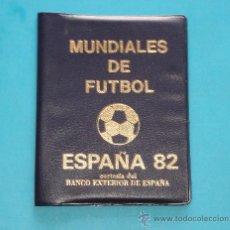Monedas de España: ESPAÑA 1982, CARTERA DE MONEDAS CONMEMORATIVAS DEL MUNDIAL DE FUTBOL ESPAÑA 1982. Lote 36805041
