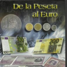 Monedas de España: OPORTUNIDAD COLECCION COMPLETA DE LA PESETA AL €URO 120 BILLETES Y 13 MONEDAS DE PLATA VER FOTOS. Lote 37132244