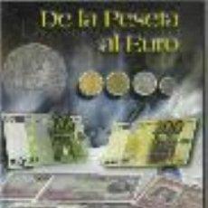 Monedas de España: OPORTUNIDAD COLECCION COMPLETA DE LA PESETA AL €URO 120 BILLETES Y 13 MONEDAS DE PLATA VER FOTOS. Lote 38668718