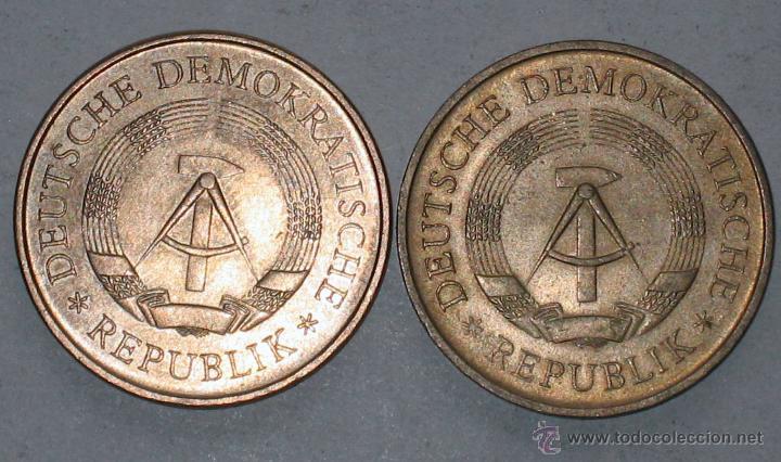 2 DE ALEMANIA / DDR (Numismática - España Modernas y Contemporáneas - Colecciones y Lotes de conjunto)