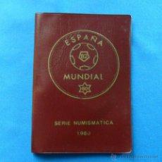 Monedas de España: CARTERA SERIE NUMISMÁTICA 1980, MUNDIAL DE ESPAÑA 82 S/C. Lote 39546810