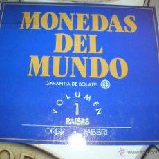 Monedas de España: COLECCIÓN COMPLETA MONEDAS DEL MUNDO. Lote 40920894