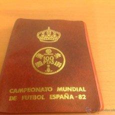 Monedas de España: CAMPEONATO MUNDIAL DE FÚTBOL ESPAÑA 82 6 MONEDAS. Lote 41408937