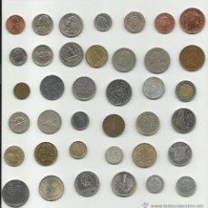 Monedas de España: INTERESANTE COLECCION DE MONEDAS MUNDIALES . Lote 43636382