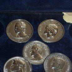 Monedas de España: MONEDAS CONMEMORATIVAS DE LA FAMILIA REAL,EN SU FUNDA ORIGINAL.. Lote 44443155
