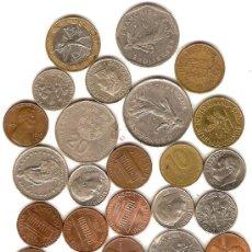 Monedas de España: LOTE DE 32 MONEDAS EXTRANJERAS,DIFERENTES PAISES. Lote 44840737