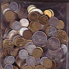 Monedas de España: ESPAÑA 1 KILO DE MONEDAS ESPAÑOLAS, ALGUNAS SIN CIRCULAR !SORPRESA!!!!!! **NUMISBUR***. Lote 222157582