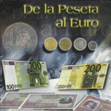 Monedas de España: OPORTUNIDAD COLECCION COMPLETA DE LA PESETA AL €URO 120 BILLETES Y 13 MONEDAS DE PLATA VER FOTOS. Lote 45710877