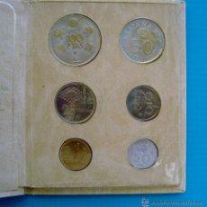 Monedas de España: MONEDAS DEL MUNDIAL DE ESPAÑA 1982 EDICION DE LA CAJA DE AHORROS DE VALENCIA, CARTERA MONEDAS. Lote 45714149