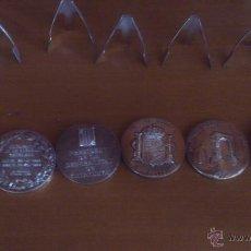Monedas de España: MONEDAS COLECCION BAÑO PLATA. Lote 46753808