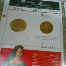Monedas de España: MONEDAS CON HISTORIA .DOS DISTINTAS. 100 REALES . 8 REALES.. Lote 46943379