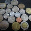 Monedas de España: BUEN LOTE DE 21 MONEDAS EXTRANGERAS. Lote 46991940