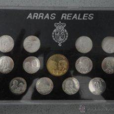Monedas de España: COLECCION COMPLETA ARRAS REALES BODA PRINCIPE FELIPE Y DOÑA LETIZIA 2004. Lote 47757013