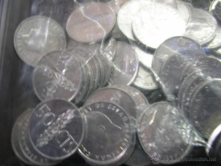 LOTE DE 100 MONEDAS DE 0,50CTS DE 1976 SIN CIRCULAR (Numismática - España Modernas y Contemporáneas - Colecciones y Lotes de conjunto)
