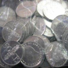 Monedas de España: LOTE DE 100 MONEDAS DE 0,50CTS DE 1976 SIN CIRCULAR. Lote 47892590