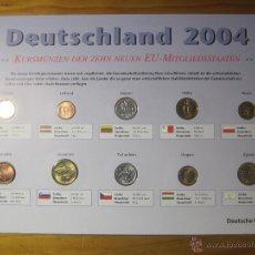 Monedas de España: LOTE CON 10 MONEDAS DE NUEVOS PAISES DE LA EUROZONA , MONEDAS ANTERIORES AL EURO. Lote 48504788