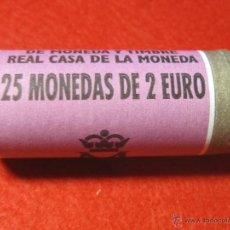Monedas de España: LOTE CON 25 MONEDAS DE 2 EUROS ESPAÑA AÑO 2002 , CARTUCHO FNMT TA3. Lote 48560062