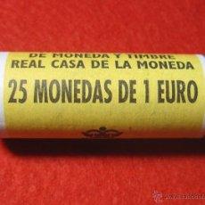 Monedas de España: LOTE CON 25 MONEDAS DE 1 EURO ESPAÑA AÑO 2000 , CARTUCHO FNMT TA3. Lote 48560842