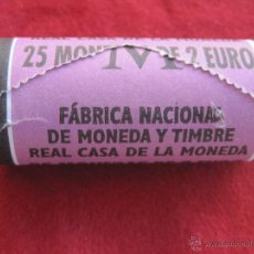 Monedas de España: LOTE CON 25 MONEDAS DE 2 EUROS ESPAÑA AÑO 2002 JUAN CARLOS I, CARTUCHO FNMT TA5. Lote 48583375